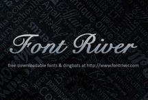 fonts / by fontriver