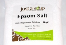 Epsom Salt / We truly believe Epsom Salt to be a wonder product.  On this board, we show a selection of articles from around the web to give you ideas of what you can do with it - it's not just for soaking in the bath.