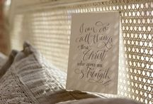 Paperglaze Products / All images are created by Paperglaze Calligraphy - www.paperglaze.com
