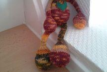 Knitting & Co  / Gestricktes Ideen gehäkeltes