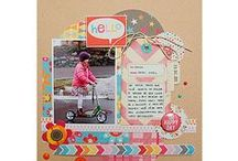My Papercraft Inspiration - Scrapbooking / Ideas for Scrapbook Layouts, mini books and journals