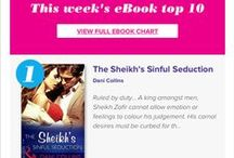 The Sheikh's Sinful Seduction / This is Book Two in Harlequin Presents' multi-author Seven Sexy Sins series. (Think deadly sins.) I got LUST!