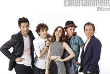 Jamie, Lily, Godfrey, Robert and Kevin