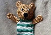 hračky / crochet - toys