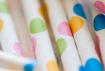PARTY | STRAWS / I really love paper straws!