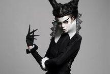 Goth + Victorian Fashion