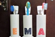 Inspiring Spaces for Brushing and Flossing / Need to get inspired while you brush and floss? Take a look at our board for some ideas!