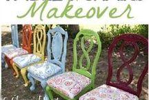 BUILDING & MAKEOVER CHAIRS AND SOFA / Restauro di: scocca/scheletro e imbottitura di sedie, poltrone e divani