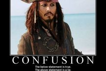 Johnny Deep / Just Keep calm and be like captain Jack Sparrow. Reasons why:  1. He doesn't care what the people think of him. 2. He is hilarious.  3. He is weird, a cool weird.  4. I love the movies he plays in.