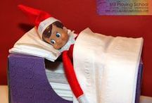Elf on the Shelf / Elf on the shelf - What will our elves try next?