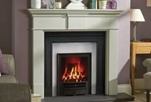 Gas Fires - Fireplace World Glasgow / Gas fires available at Fireplace World Scotland in Glasgow, Scotland.  http://www.fireplace-world.com/