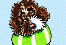 Dogs : Labradoodles / For the love of Labradoodles! / by Off-Leash Art™