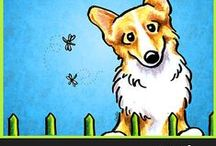 Dogs : Corgis / For the love of all things Corgi :) / by Off-Leash Art™