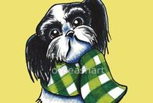 Dogs : Shih Tzu / For the love of the Shih Tzu <3 / by Off-Leash Art™