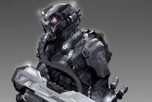 sci-fi char