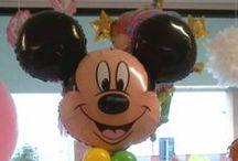 Palloncini / Vendita al dettaglio di palloncini Balloon Express, composizioni coloratissime per ogni occasione e festa (compleanni, laurea, comunione, matrimonio).