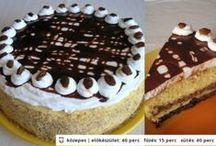 Desserts - Édességek