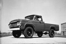 Vintage trucks / All trucks, stock and custom / by Hiptopia Speed & Chrome