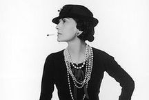 Fashion | Vintage Fashion Delights / Vintage Fashion | Style Icones like Coco Chanel | 20ies until 90ies | Inspirations