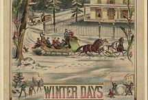 Winter Wonderland / The snow, the stars, the season of ice and cold outside & the warm hearth inside, we offer visions of winter. / by Library of Congress