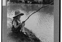 Gone Fishing / Grab a line, grab a pole, we'll go fishin' at the fishin' hole! From fly-fishing to the most dangerous catch, presidents to cats at the goldfish bowl, fishing is a big part of our culture.