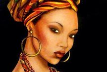 Beautiful Dark Skinned Art