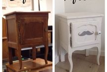 Old meets new / restyling old furniture