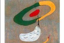 kandinsky, klee, miro & ernst / my fav artists Wassily Landinsky, Paul Clee, Joan Miro & Max Ernst