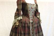 Outlandish Inspiration / The fantastic costumes of Outlander are works of art, with very authentic focus. Fused with the haute couture of Alexander MacQueen.  Outlandish.