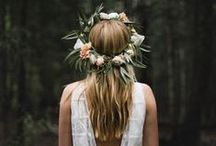 Flower Crowns for Your Wedding - Suggestions