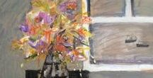 Still Life / A selection of still life paintings available from Cornwall Contemporary.