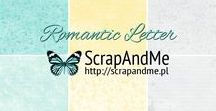 Romantic Letter / A very romantic set of our scrapbooking papers collections