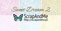 Sweet Dream II / Romantic and shabby papers for scrapbooking collection