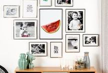 Gallery Wall / Gallery Wall - Picture frames