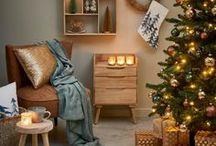 Pure Nature Christmas / Cet hiver, tout ce qui brille est d'or !  Rendez votre maison chaleureuse avec des éléments en bois, coussins, décorations aux couleurs de terre et beaucoup de bougies. Aurons-nous un Noël blanc cette année?   Le style Pure Nature est à votre goût ? Laissez-vous sur www.casashops.com. Bonne visite !