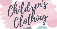 Children's Style, Fashion & Clothing / Beautiful kid's clothing and accessories.