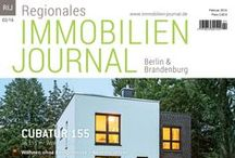 Regionales Immobilien Journal / Die Ausgaben des Immobilien- und Hausbau Magazins für Berlin & Brandenburg