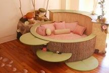 Amazing Play Rooms / Daycare rooms that are organized and designed for kids.
