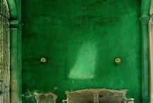 Decor ideas / Bron van inspiratie dus 'gewoon' leuke interieurs, al dan niet vintage. Als het er maar van gaat kriebelen ;)