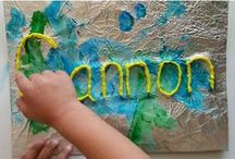 Name Activities / What's In A Name........everything! Ideas to help teach preschoolers how to spell their own name.