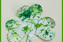St.Patrick's Day / St.Patrick's Day crafts, games and green snacks