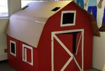 Farm Unit / Daycare crafts and activity ideas for down on the farm.