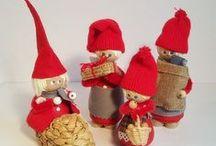 Danish retro Christmas decorations - Danske retro julenisser / Danish and swedish retro Christmas decorations and bric a brac from the 50s, 60s and 70s. Dansk og svensk retro julepynt fra 50'erne, 60'erne og 70'erne.