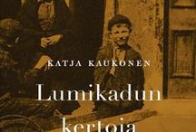 My books / So far only in Finnish. The sample version of Kohina, The Hum, translated by Lola Rogers. The sample version of Lumikadun kertoja, Watching Over Snow Street, translated by Kristian London. http://www.bonnierrights.fi/authors/katja-kaukonen/