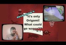 """It's only Origami! What could go wrong?! / My new YouTube comedy series of *videos* about origami... you may consider it as a spin-off of """"...and origami for all""""! Who said that origami must be serious? ;-)"""