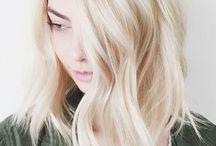 BLONDE. / Blonde hair inspiration