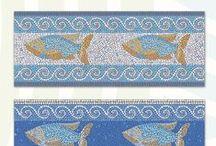 שטיחי PVC וראנרים שעיצבתי