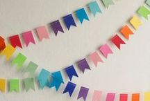 Party Theme Ideas - Birthday Rainbow / Roy G. Biv! Nothing feels as festive as a bright and cheerful rainbow themed birthday party.