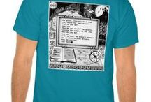"""""""Text Adventures"""" - My original apparel on Zazzle / My series of original apparel, themed with my own artwork, concept and texts! Text adventures, adventure games, interactive fiction... however you call it, it means reading, imagining... and deciding what the course of the story will be like!  Wear an adventure! http://www.zazzle.co.uk/danbergam   Facebook page: https://www.facebook.com/danbergamsapparel"""