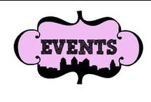 Events / Event operations. Events I've been and am involved with.